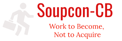 Soupcon-CB – Work to Become, Not to Acquire
